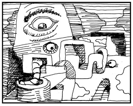 NeoCubist Doodle
