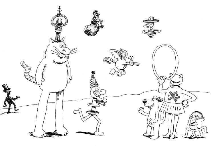 Old doodle in C's Studio