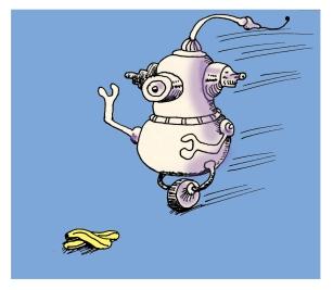 banana peel bot