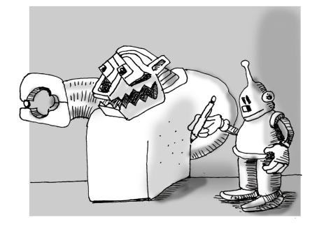 bot draws bot