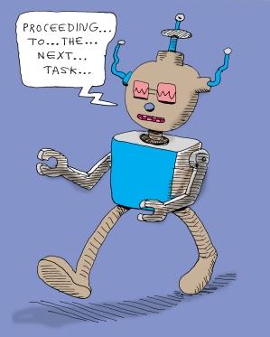 next task bot