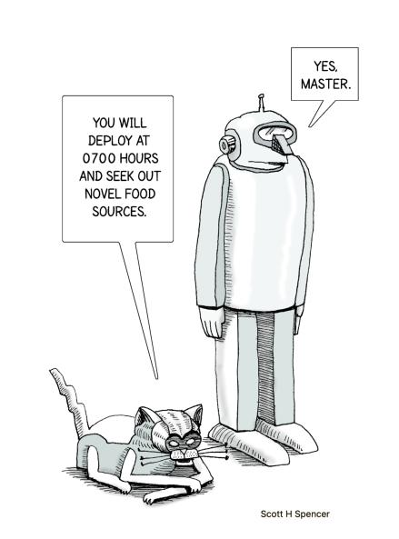 Robocat & servant2